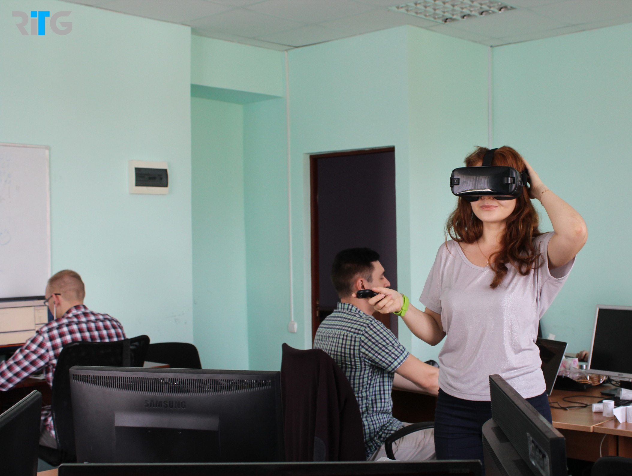 Development of VR-application for business